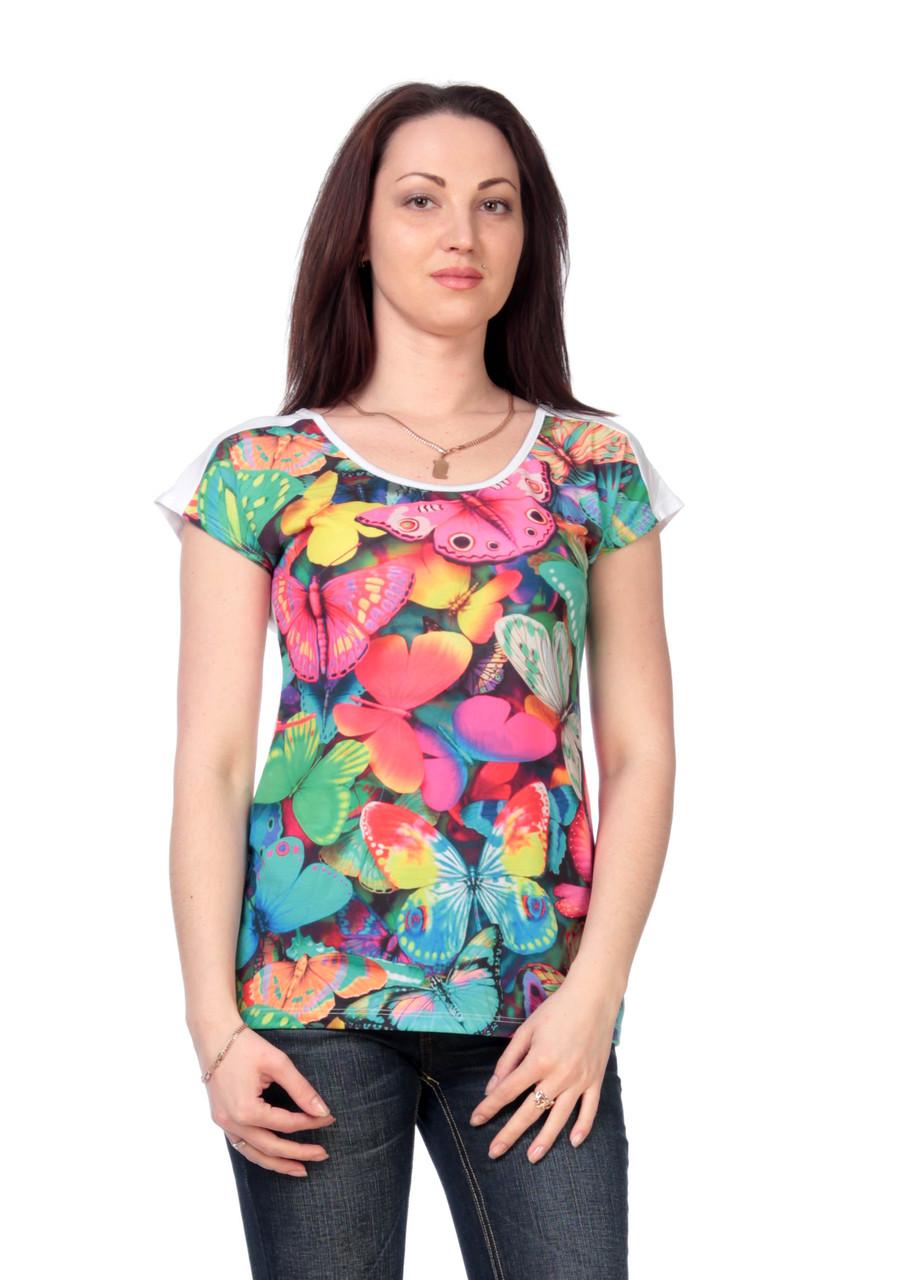 Жіноча футболка принт фото F2078