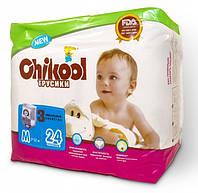 Подгузники-трусики Chikool Premium M (7-12 кг), 24 шт.