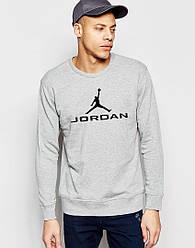 Свитшот мужской Jordan серый