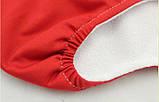 Многоразовый подгузник с сеткой Qianquhui красный, фото 4