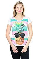 Женская футболка принт фото К3117