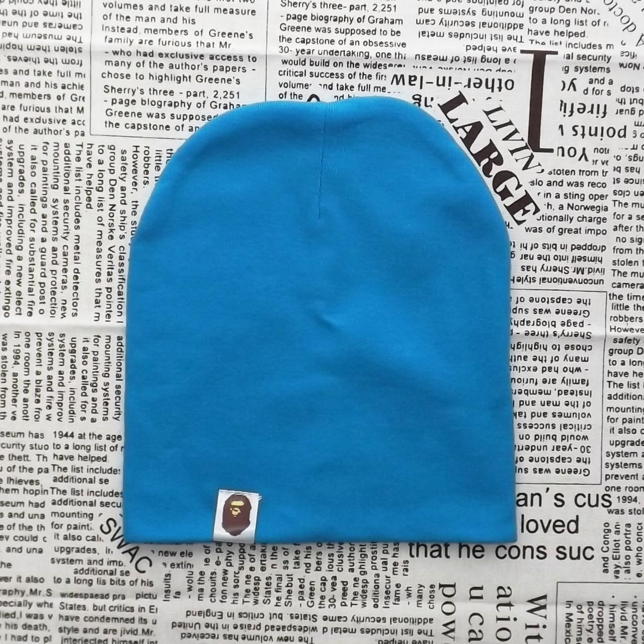 Варе Kids шапка однотонная демисезонная темно-бирюзовый