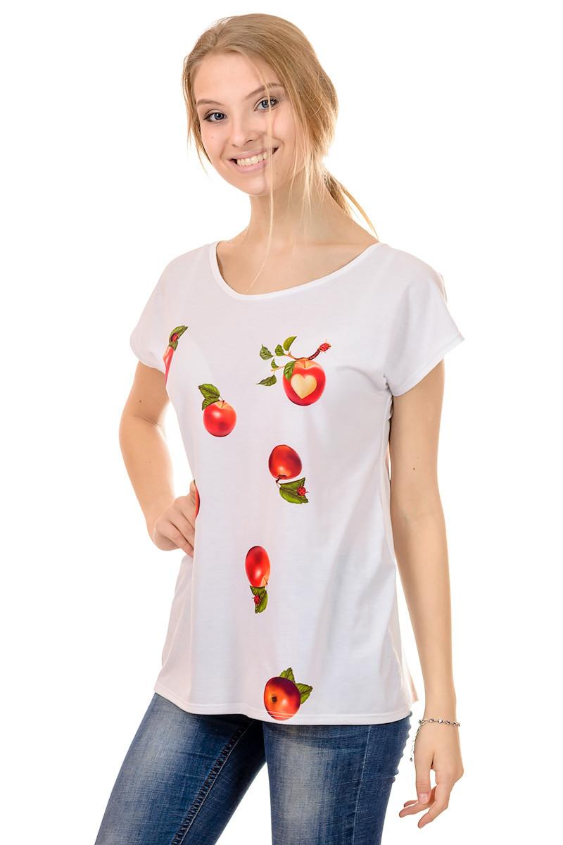 Женская футболка принт фото К3120