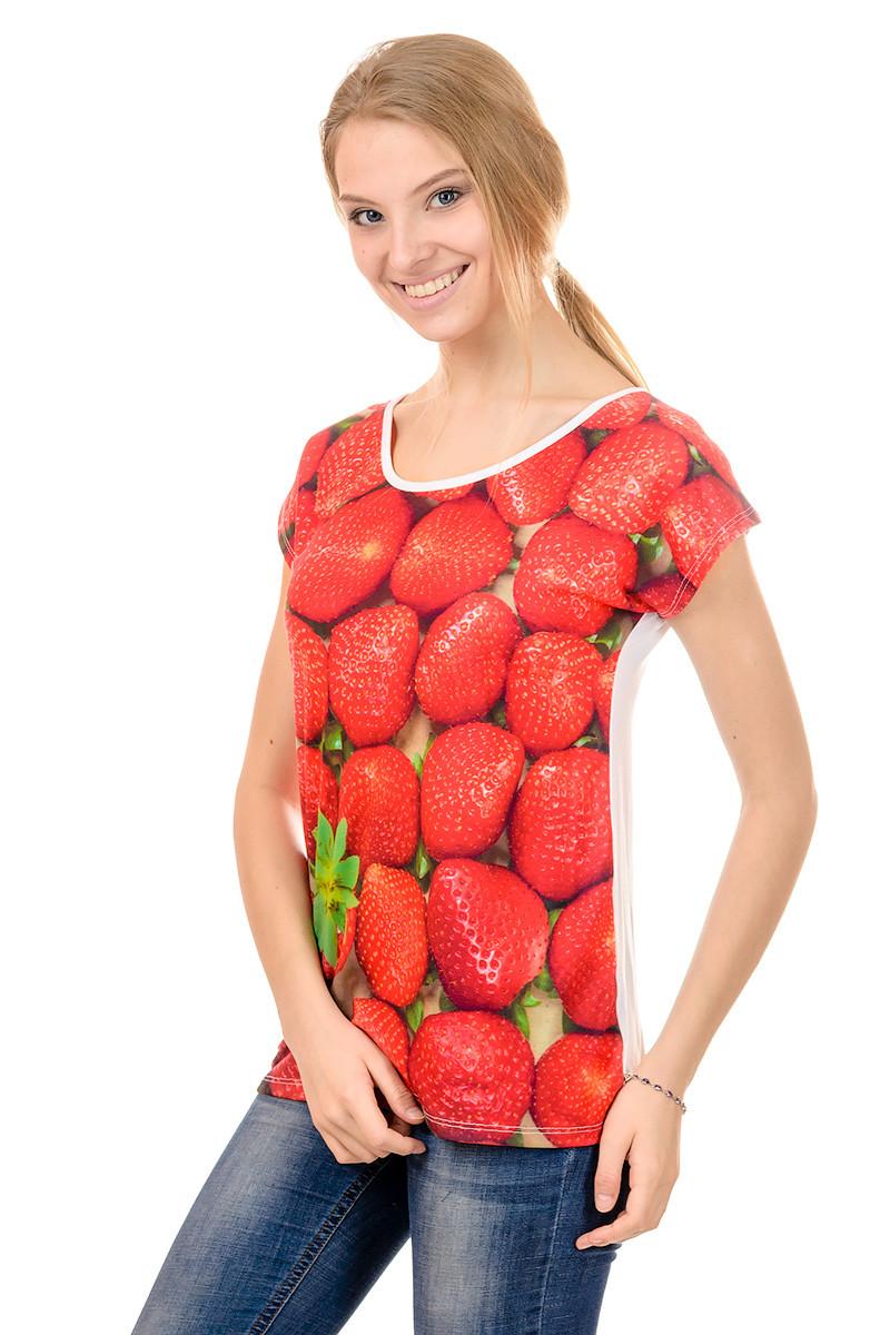 Женская футболка принт фото К3121