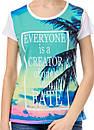 Женская футболка принт фото К3123, фото 2