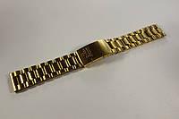 Браслеты для часов Omega-браслет желтый из нержавеющей стали 20 мм