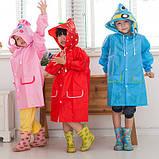 Дождевик плащ детский  Funny rain coat, фото 3