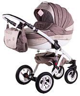Универсальная коляска 2в1 Adamex Aspena World Collection  Love Cappucino