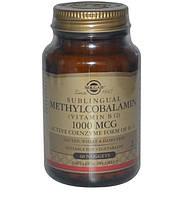 Витамин В12 метилкобаламин Солгар 1000 мкг, 60 таблеток