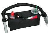 Органайзер для бутылочек и мелочей на ручку коляски, фото 3