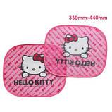 Захисні шторки в автомобіль Hello Kitty 2шт., фото 2