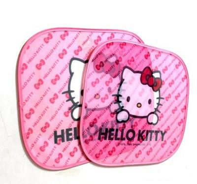 Захисні шторки в автомобіль Hello Kitty 2шт.