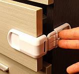 Угловой замок для ящиков с двумя кнопками, фото 2