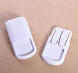 Угловой замок для ящиков с двумя кнопками, фото 6