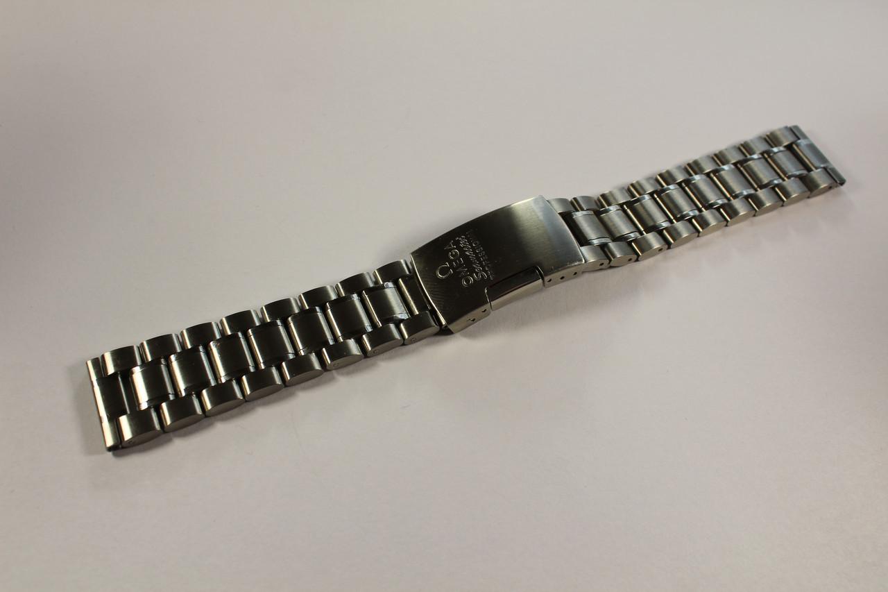 Браслеты для часов Omega-браслет хром из нержавеющей стали 18 мм