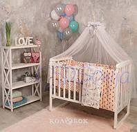 Постельный Комплект Маленькая Соня из 7 элементов Baby Design Пудели