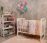 Постельный Комплект Маленькая Соня из 6 элементов Baby Design Пудели