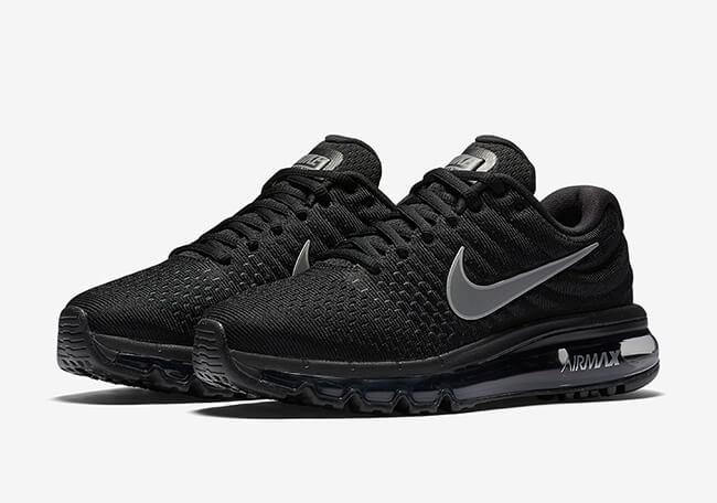 2536fd2b Кроссовки мужские Nike Air Max Black (в стиле найк аир макс) черные -  Мультибрендовый