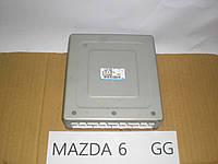 Б.У. Mazda 6 GG 2003-2007 Б/У блок управления ДВС