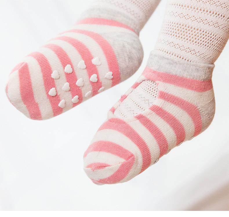 Носки с антискользящей подошвой летние Chibis