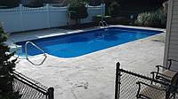 Бетонный бассейн 5х3х1,6