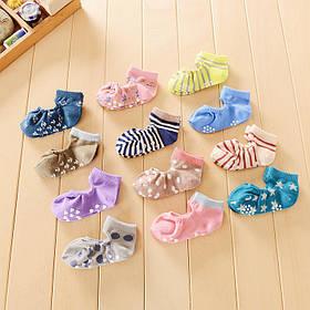 Шкарпетки з антиковзною підошвою літні Чибис