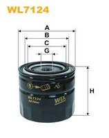 Фільтр оливи Volvo (Anti Drain Valve) WL7124