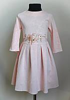 Платье для девочки, нарядное, с вышивкой, фото 1