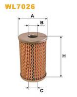 Фільтр гідравлічний WL7026