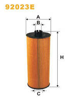 Фільтр оливи MAN 92023E (WIX)