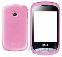 Корпус LG T310 с клавиатурой Pink