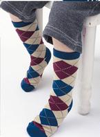 Детские носки на стопу длиной 15-19 см.