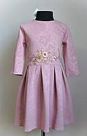 Нарядное детское платье, с вышивкой, фото 1