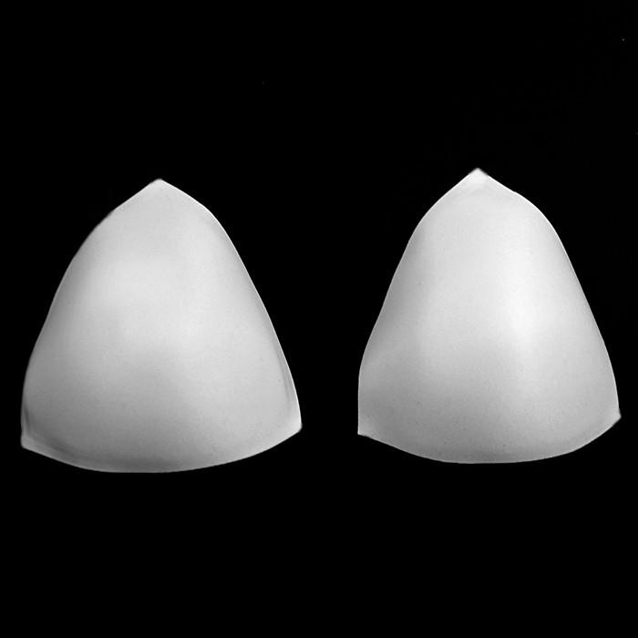 Чашка №3 треугольная размерная, белая