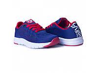 Детские синие кроссовки