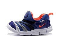 Детские кроссовки Nike Free Run blue-orange