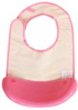 Нагрудник с съемным пластиковым ковшом для крошек и жидкости, фото 3
