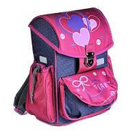 Рюкзак каркасный (ZiBi, Satchel HEART, школьный, ZB16.0110HT-k)