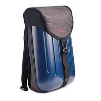 Рюкзак шкільний ZiBi каркасний Exception Dark blue ZB16.0220ED