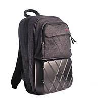 Рюкзак шкільний ZiBi каркасний Expert Dark gray ZB16.0228ED