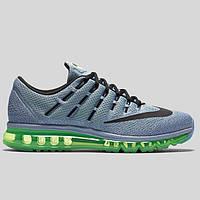 Кроссовки мужские Nike Air Max Green/Ocean Fog (найк аир макс) голубые