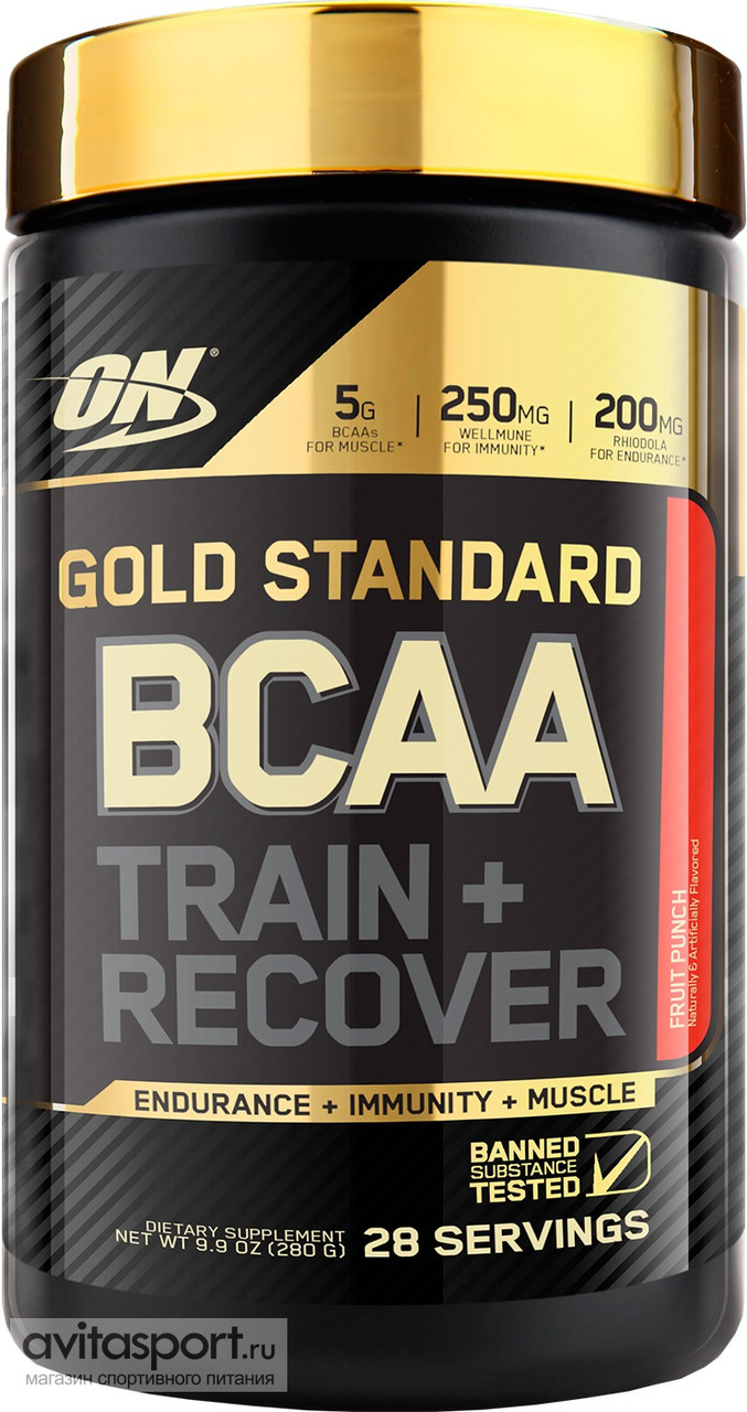 Optimum Nutrition GOLD STANDARD BCAA 280 г