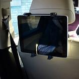 Автомобільне кріплення для планшетів на спинку сидінь, фото 2
