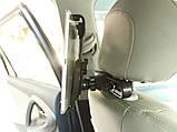 Автомобільне кріплення для планшетів на спинку сидінь, фото 3