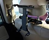 Автомобільне кріплення для планшетів на спинку сидінь, фото 4