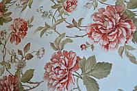 Портьерная ткань для штор Camellia оранжевая