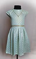 Детское атласное платье для девочек от 2-5 лет