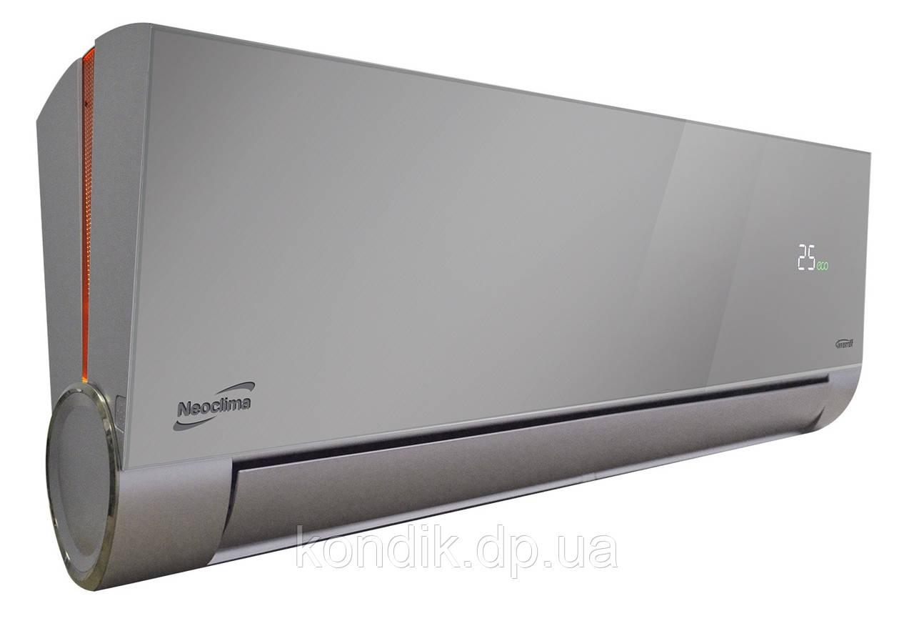 Кондиционер Neoclima ArtVogue NS/NU-12AHVIws Silver Inverter Wi-Fi