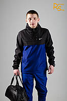 Мужской анорак Nike blue-black