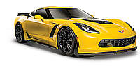 Автомодель Maisto (1:24) 2015 Chevrolet Corvette Z06 yellow